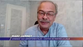 Yvelines | Départementales : Marc Jammet et Binta Sy, candidats pour le canton de Mantes-la-Jolie