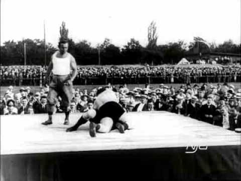 Gustav Fristensky Vs. Josef Smejkal - 1913 - Oldest Available Professional Wrestling Match Footage