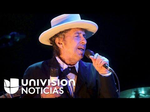 El músico Bob Dylan gana el Premio Nobel de Literatura