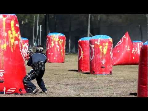 2013 Tampa Bay Damage First Paintball Practice - Road to PSP Dallas Open