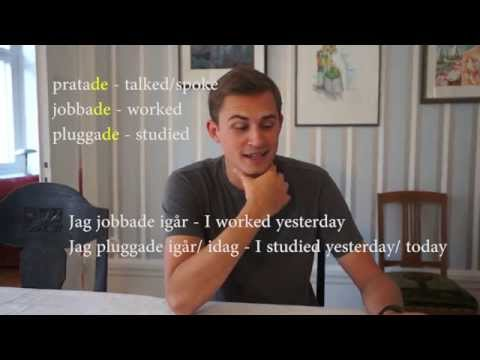 Learn Swedish, Lesson 2: Verbs