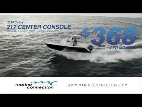 2014 Cobia 217 Center Console Boat Sales & Financing Event TV commercial