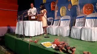 Singing by Joyeeta Majumder. Tomar Duar kholar dhoni & Mira Bhojon