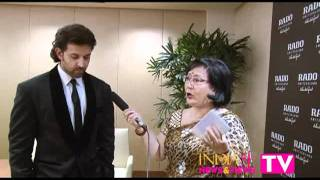 India Se Interviews Hrithik Roshan; RADO