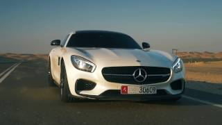 DT Test Drive — Mercedes AMG GT S in Abu Dhabi