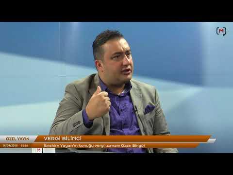 Vergi uzmanı Ozan Bingöl ile vergi bilinci