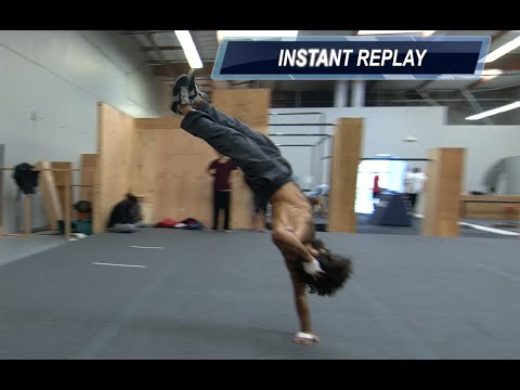 Parkour and Freerunning Calisthenics SLOW MOTION replays