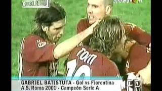 Download Video Batistuta gol en Roma vs Fiorentina 2001 FUTBOL RETRO TV MP3 3GP MP4