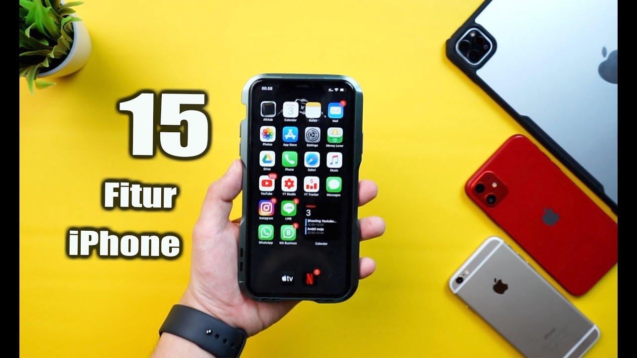 15 Fitur iPhone yang harus kamu ketahui!