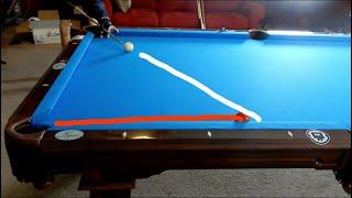 How To Cut Pool Balls BACKWARDS!!