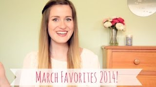 Michelle's March Favorites 2014 | Beauty, Fashion, TV & MORE! Thumbnail