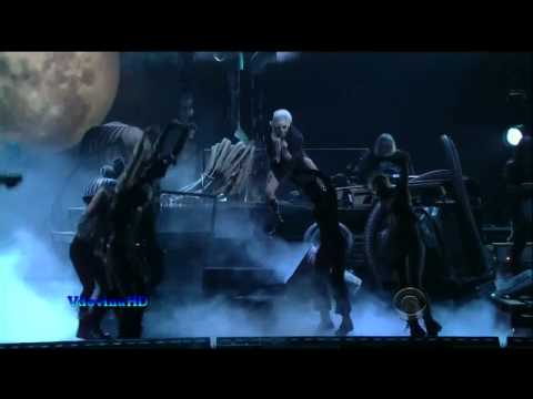 Lady Gaga - Marry The Night on Grammy Nominations Concert Live