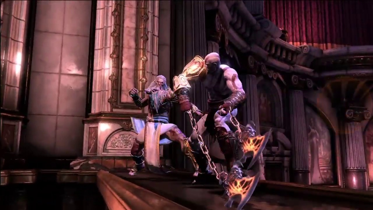 God of War 3: Remastered - Kratos vs Zeus (Part 1 of 5 - God Difficulty)