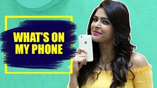 IWMBuzz: What's on my phone with Madhurima Tuli