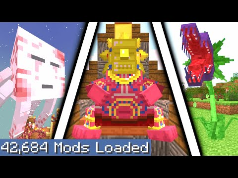 Minecraft But I Downloaded Every Single Mod Again...