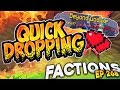 Minecraft Factions #268 - Quick Dropping Two Guys?!  (Minecraft Raiding)