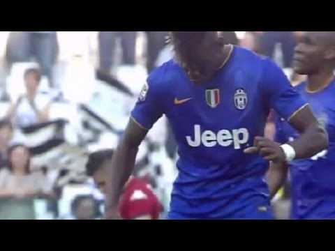 Juventus vs Cagliari 1-0 Paul Pogba Amazing Goal 2015 Serie A HD