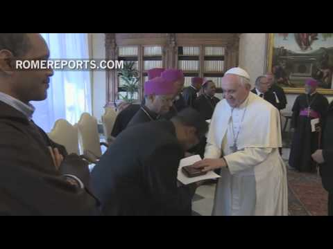 Pope thanks Ethiopian and Eritrean bishops for helping those in need