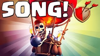 "Clash of Clans ""BALLOON SONG!"" Clash of Clans Track 6/10 New Album!"