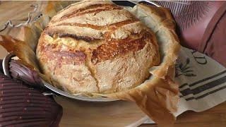 Yoğrulmayan EKMEK tarifi|Ekmek Tarifleri|Hamur isleri|Masmavi3Mutfakta