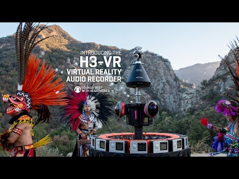 The Zoom H3-VR (360 Video / 4K)