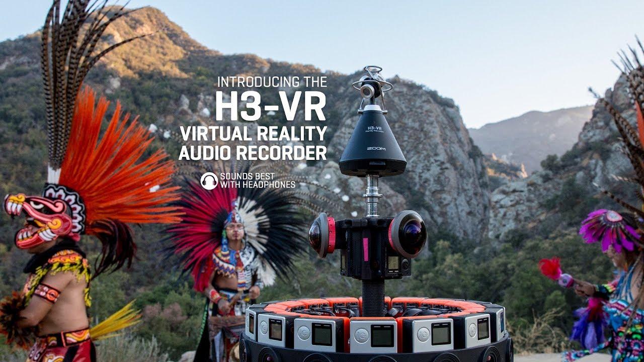 Zoom H3-VR Handy Recorder | Zoom