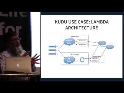 Intro to Apache Kudu by Asim Jalis, Galvanize