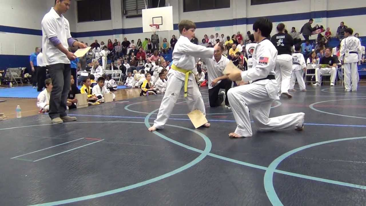 2013 Southeastern USA Taekwondo Open Championship - Board Breaking (Silver Medal)