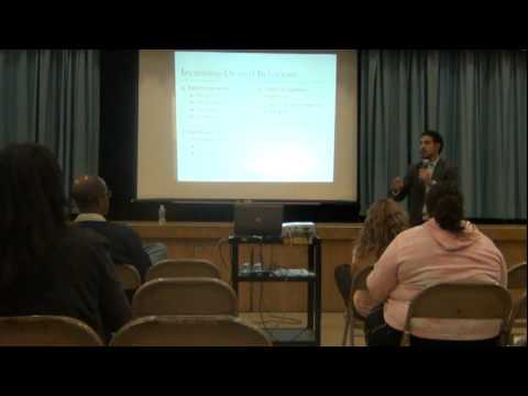 Behavior Modification Parent Workshop by Mr. Tony Garza at Los Molinos Elementary School