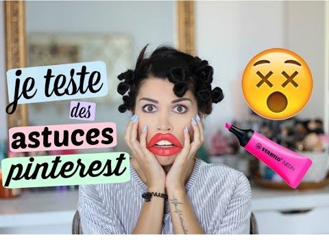 Je teste des astuces Pinterest & Instagram !