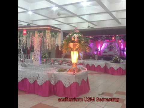 Nuansa Pink Fanta Kombinasi Silver By Kembar Catering Wedding