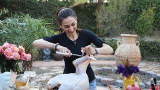 Ինչպես Համեմել Ապխտել Հնդկահավը - Հեղինե - Heghineh Cooking Show in Armenain
