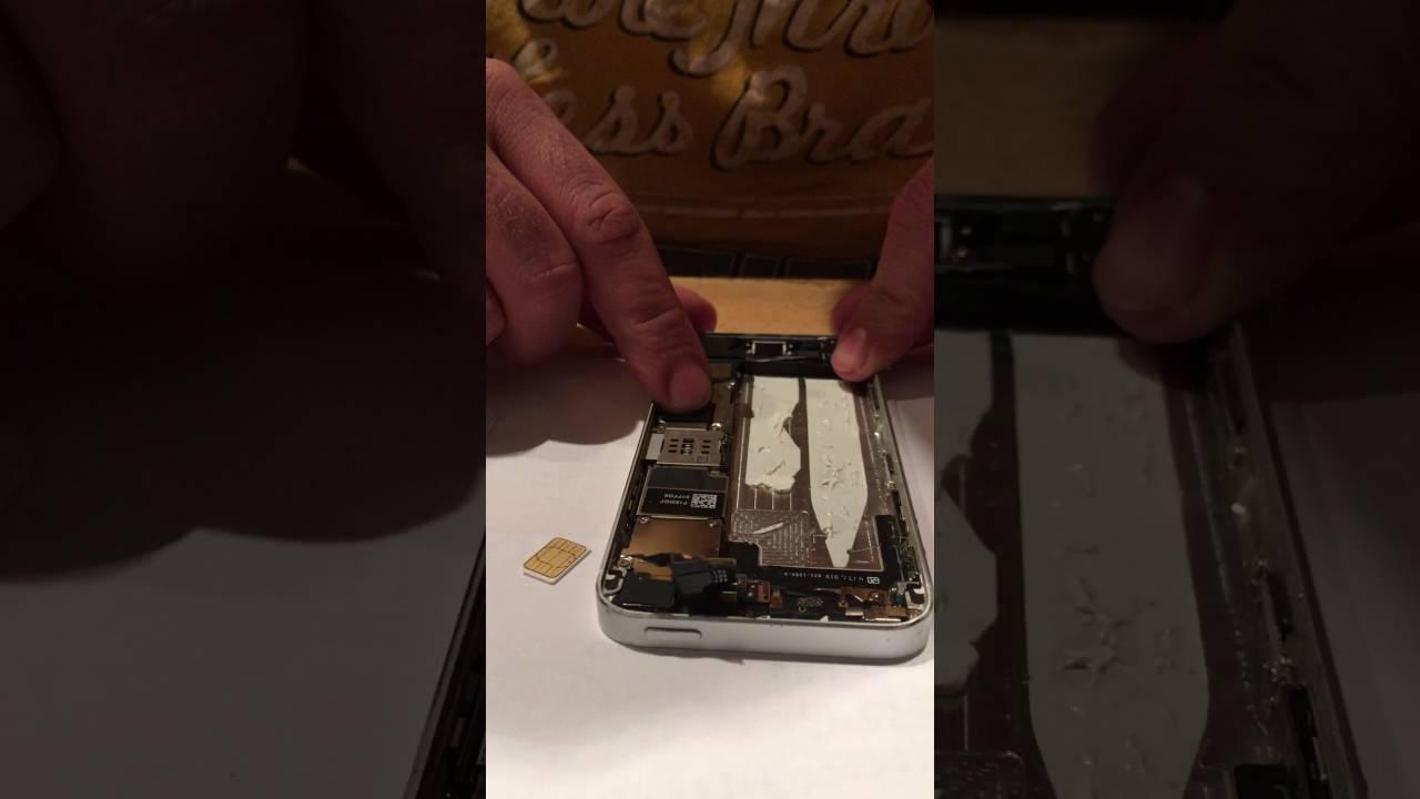 Iphone 5s Sim Karte Einlegen.Iphone 5 5s Se Sim Karte Einsetzen Tauschen Leicht Gemacht