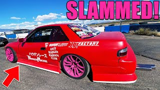 The LOWEST Drift Car In The WORLD? *not Clickbait*