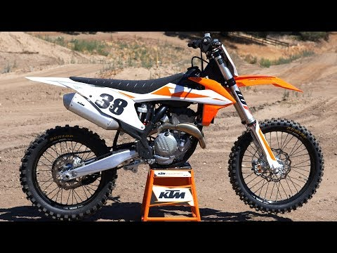 First Ride 2019 KTM 350SXF - Motocross Action Magazine