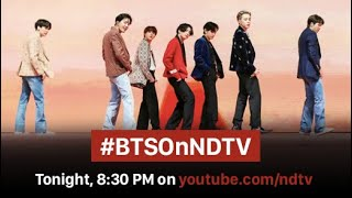The Most-Talked Interview in the World of Music #BTSOnNDTV Airs Today
