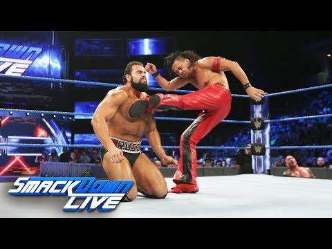 Randy Orton & Shinsuke Nakamura vs. Jinder Mahal & Rusev: SmackDown LIVE, Aug. 29, 2017