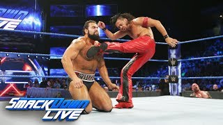 Video Randy Orton & Shinsuke Nakamura vs. Jinder Mahal & Rusev: SmackDown LIVE, Aug. 29, 2017 download MP3, 3GP, MP4, WEBM, AVI, FLV September 2017