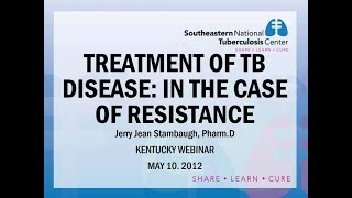 Treatment of TB Disease - In the Case of Resistance