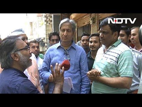 रवीश के रोड शो में जब AAP और बीजेपी समर्थक में हुई रोचक बहस