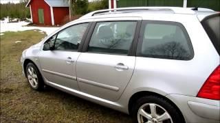 Обзоры машин: Peugeot 307 SW 2.0, часть 1