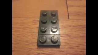 How to make a lego swat team guy with shield+secret bonus minifig