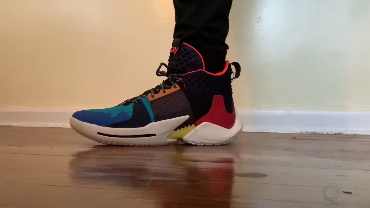 JORDAN WHY NOT ZERO.2 ON FOOT REVIEW