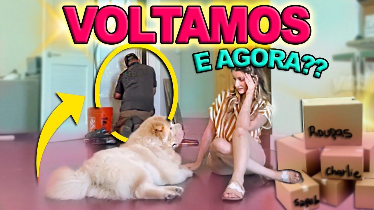 NOSSA 1ª NOITE DE VOLTA EM CASA + ESPEREI 1 ANO POR ISSO!!!!
