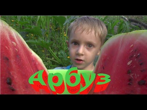 Разрезаю сладкий арбуз