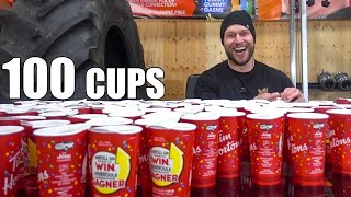I Rolled 100 Tim Hortons Cups (and won)