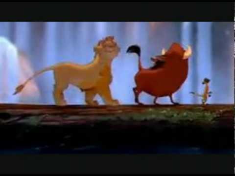 Hakuna Matata! from The Lion King with LYRICS!!!