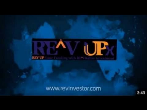 REV Investor Online Real Estate & REV UP X Direct Funding Platform