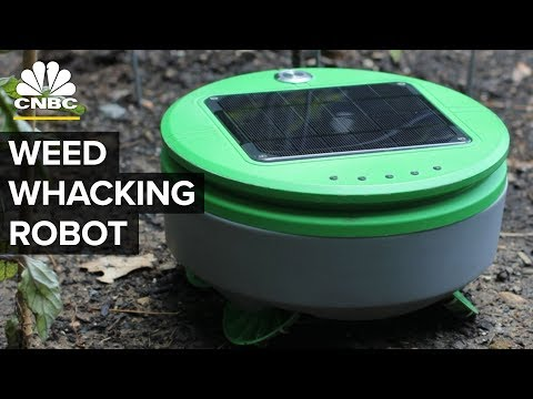 This Robot Works Like A Weed-Whacking Roomba | CNBC