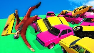 MOST DANGEROUS SKY DERBY! (GTA 5 Funny Moments)